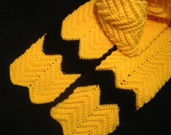 Charlie Brown inspired Scarf