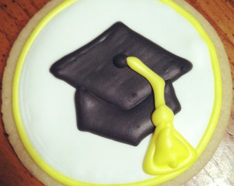 Graduation Sugar Cookies: 1 Dozen