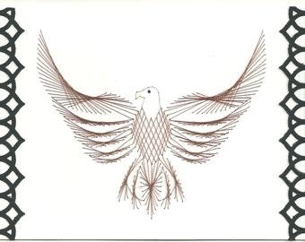Eagle Greeing Card