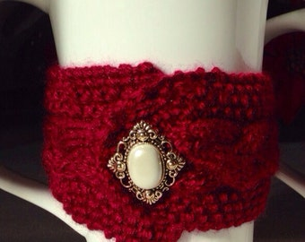 Brittany Buttoned Up Mug Cozy