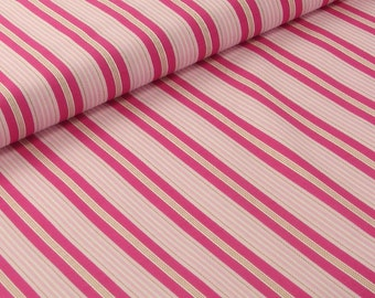SALE!!  Strawberry Pink Striped Quilt Fabric by Joel Dewberry - Aviary Collection