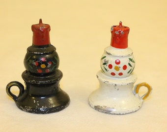 Lantern Cast Iron Salt Pepper Shakers - Japan LHC