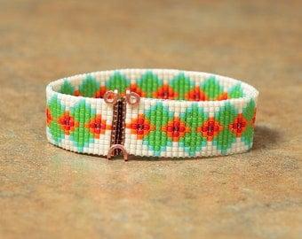 African Weave Beaded Bracelet