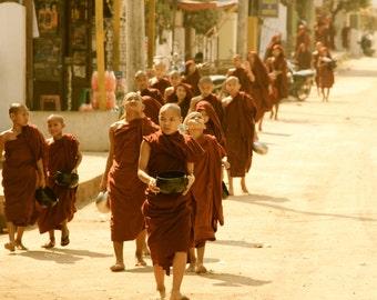 mongk in Burma