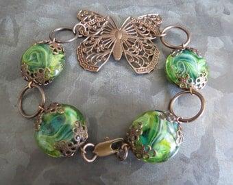 Circling Butterfly Bracelet