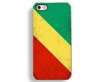 Flag of Congo iPhone 5/5S Case - iPhone 4/4S Case - iPhone 5C Cases