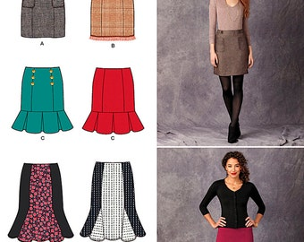 Misses' Skirts Simplicity Pattern 1321