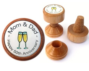 ... bottle stopper for Wedding Anniversary gifts. Mom and Dad gift ideas