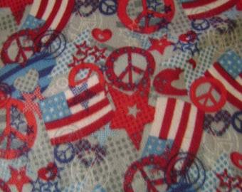 Patriotic Fleece Blanket