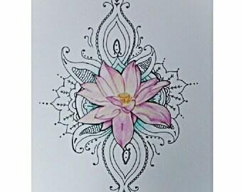 Lotus Drawing