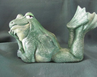 Attitude Frog Laying