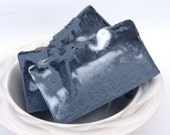 Activated Charcoal Soap, Unscented soap, All Natural Soap, HandMade Soap