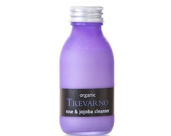 Organic Trevarno Rose & Jojoba Cleanser