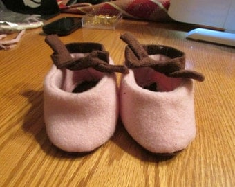 Little Baby Slippers Size Medium