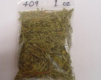 1 oz bag ground flat cedar leaves #409