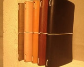 Refillable Moleskine Cahier Leather Cover - All Sizes