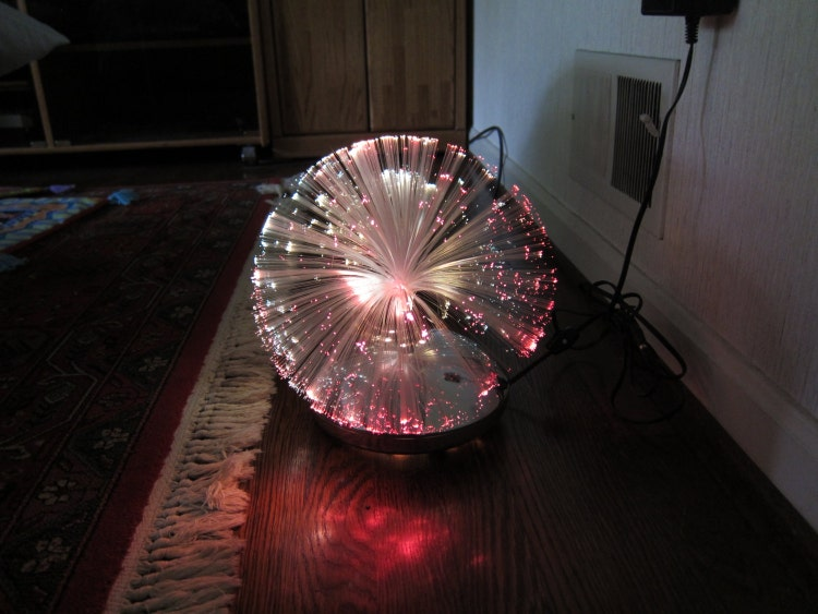 Vintage Fantasia Psychedelic Fiber Optic By Eclecticromantic