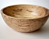 Hand turned Spalted Maple Bowl