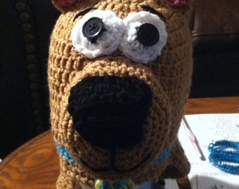 Crochet Scooby Doo hat