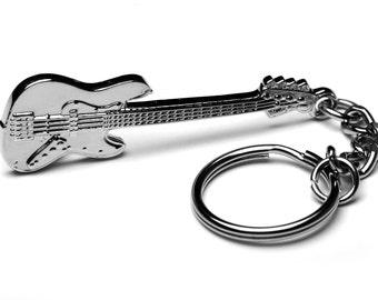 Fender Bass Guitar Keychain/Keyring - Great Gift for Guitarist