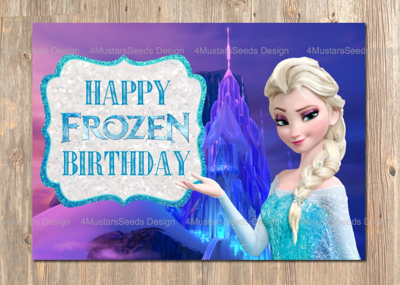 Fine Frozen Birthday Deals On 1001 Blocks Birthday Cards Printable Benkemecafe Filternl