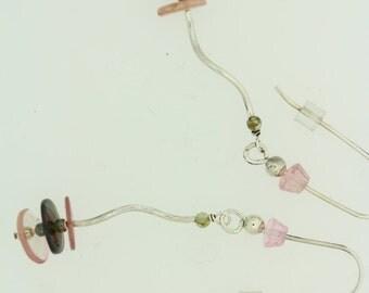 Tourmaline Disc Earrings.2
