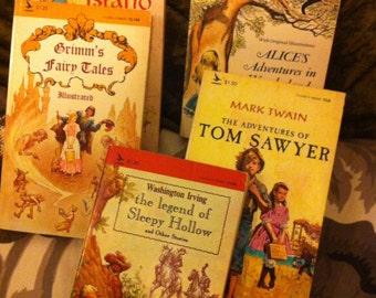 Vintage Children's Books - Vintage Paperbacks  - Vintage Paperback Collection