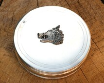 Hog Wild Boar Head Trinket Jewelry Box Ladies Gift