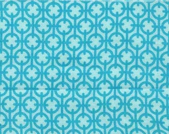 Premium quilting cotton fabric by the yard in aqua by fabric designer Paula Prass for Michael Miller. Need more fabric yardage? Just ask.
