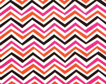 Modern chevron quilting cotton, fabric by the yard, designer fabric by Paula Prass for Michael Miller Fabrics. Need more yardage? Just ask.