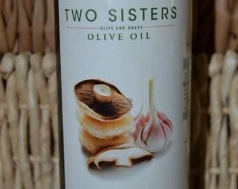 Portobello and Garlic Olive Oil