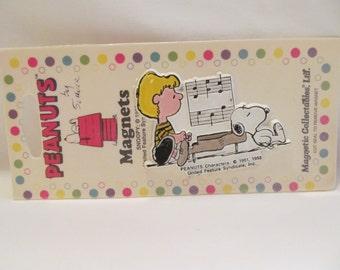 Peanuts  Rubber Refrigerator Magnet  New