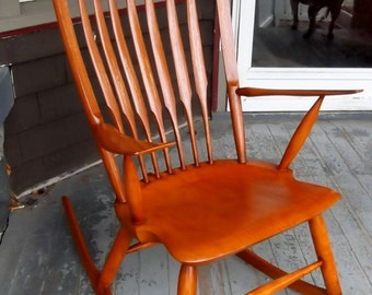 Rocking Chair Contemporary Windsor Chair