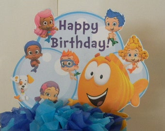 Bubble Guppies Cake Topper