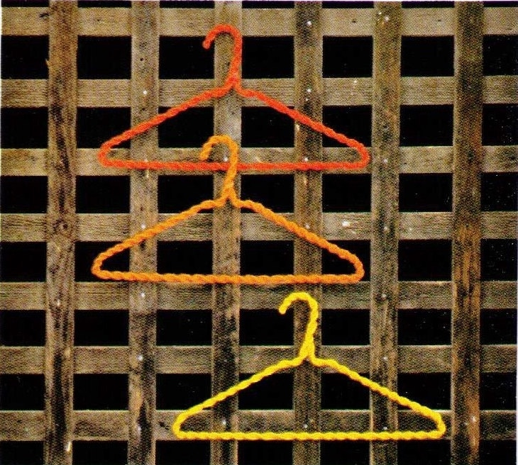 how to make coat hanger covers