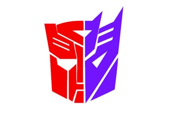 pics for gt autobot decepticon symbol combined