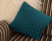 Caledonia Textured Cushion Crochet PDF pattern