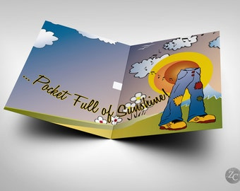 "Easy A - ""Pocketful of Sunshine"" Musical Greeting Card - Emma Stone"