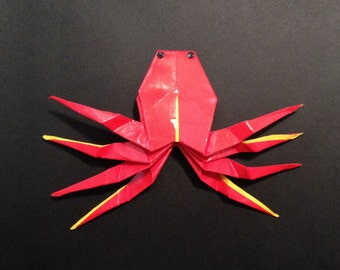 Origami Crab Brooch