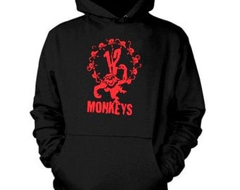 12 MONKEYS Hoodie Twelve Monkeys Sweatshirt Shirt