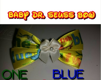 Baby Dr. Seuss Bow