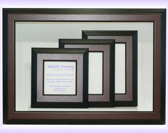 Mahogany Picture Frames from 4x4 - 20x30 or Larger - Custom Sizes for  Art, Photography, Certificates, Wedding, Cosmatology, Wedding