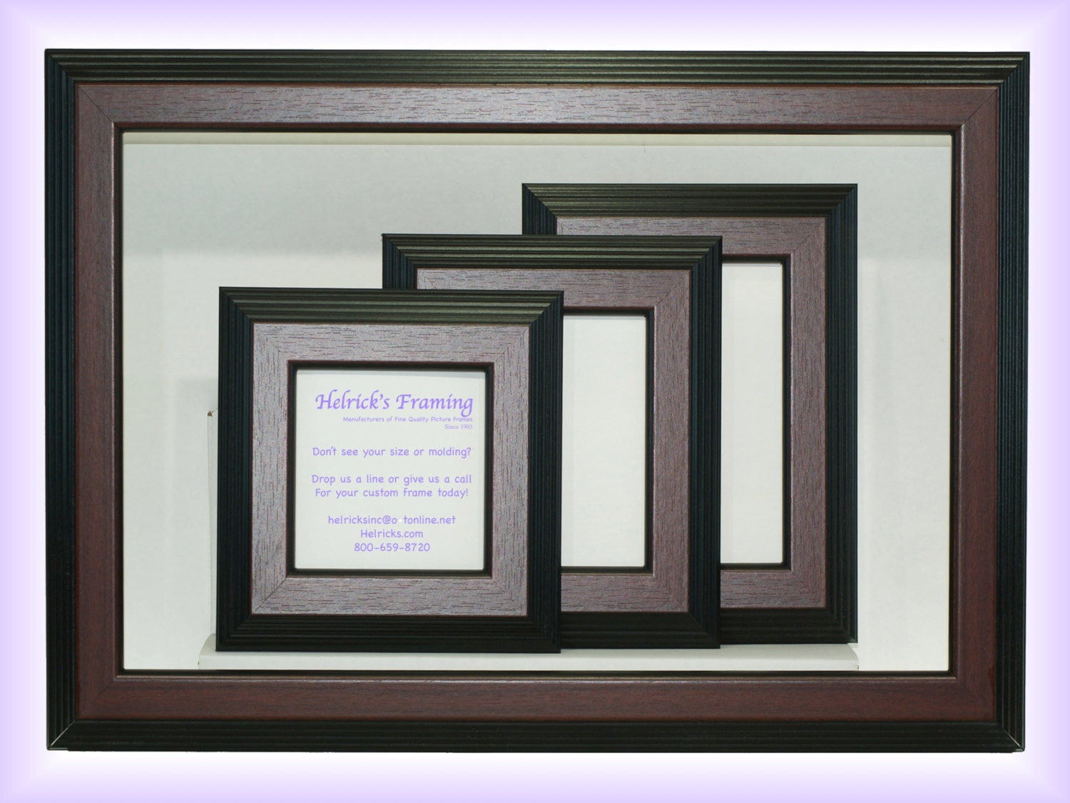 Mahogany picture frames from 4x4 20x30 or larger custom sizes 995 jeuxipadfo Choice Image