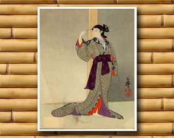 Japanese Travel Art Poster Asian Decor Japan Art Print (J89)