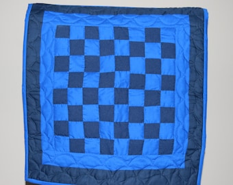 Quilted Checker Board Wall Hanging