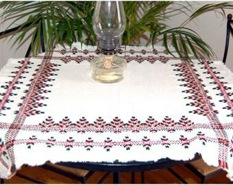 Scandinavian Table Cloth, Swedish weave digital pattern
