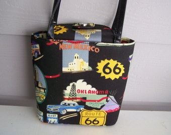 Route 66 Handbag/Purse  --  New