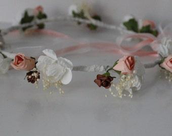 Mara Crown of flowers