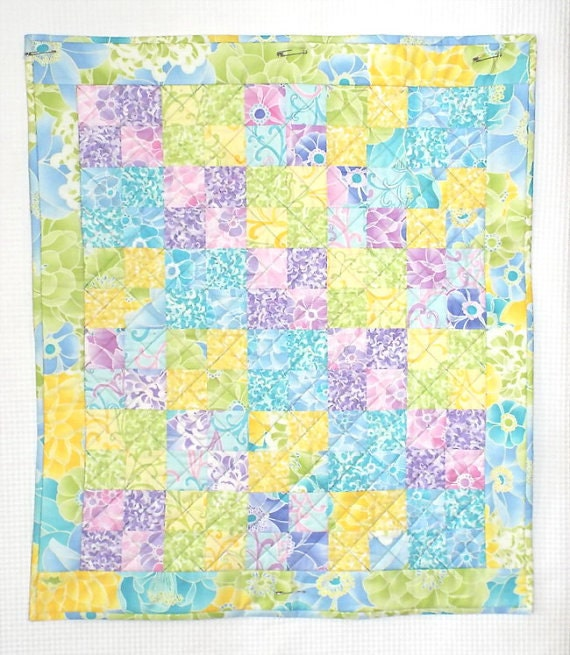 Island Vacation Doll Quilt