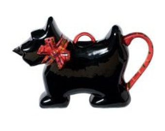 The 'Scot Tea Dog  ' Full Size Teapot
